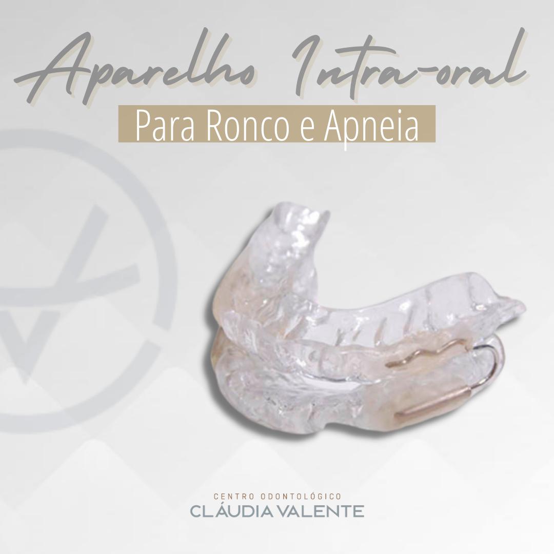 Aparelho Intra-oral para Ronco e Apneia