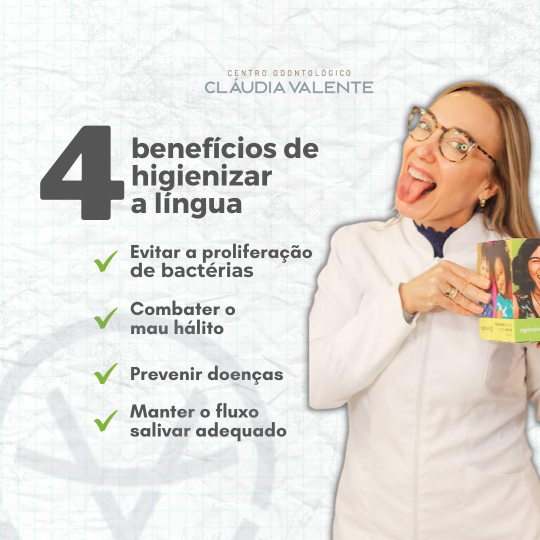 04 Benefícios de Higienizar a Língua